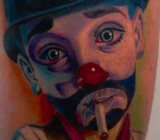 tattoo work, tattoo mini, clownboyTattoo.jpg