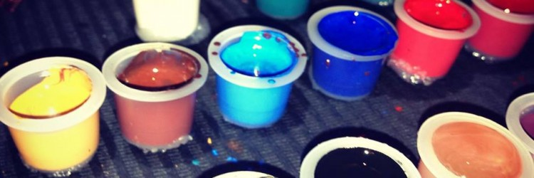 tattoo mini, inkcups, tattoo color, tattoo farve
